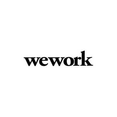 The wework logo, the co-working space.