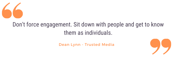 Dean Lynn company culture quote from podcast