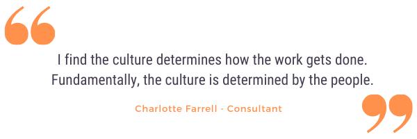 charlotte farrell company culture quote