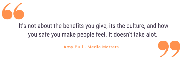 Amy bull company culture quote lifted from podcast