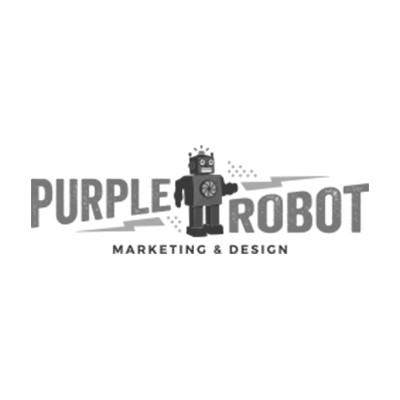 Logo of Purple Robot, a marketing agency in Lincoln UK.