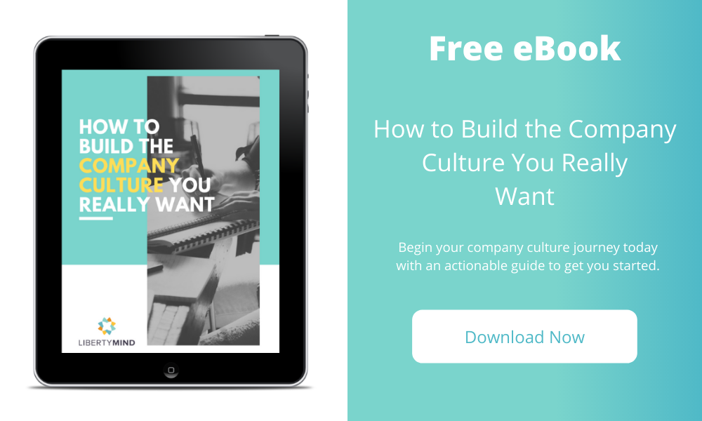 graphic of ebook on how to build company culture