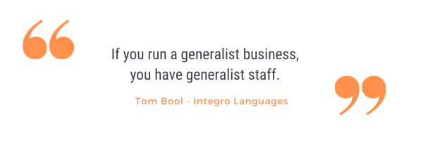 Tom bool company culture quote from podcast