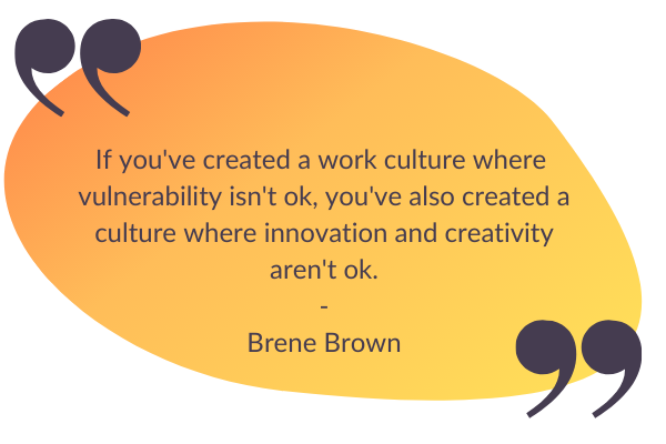 company culture quote by Brene brown