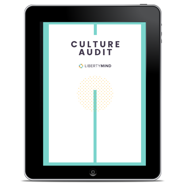 image of culture audit pdf on an ipad