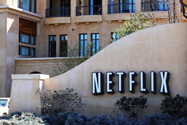 a picture of netflix head office in silicon valley