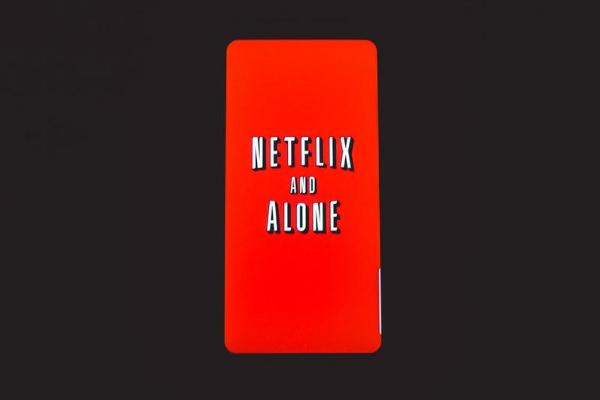 netflix phone case representing the netflix brand